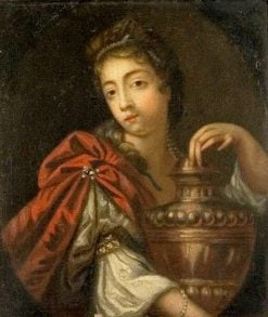Lady Holding a Large Urn | Peter Lely | Oil Painting