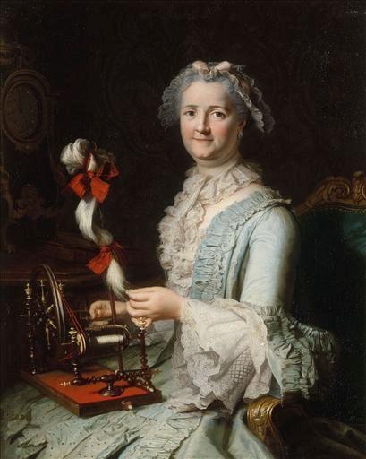 Presumed Portrait of Francoise-Marie Pouget