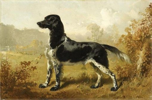 Monsieur le Duc d'Aumale's Dog | Alfred de Dreux | Oil Painting