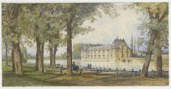 Le Petit Chateau de Chantilly | Auguste Paul Charles Anastasi | Oil Painting