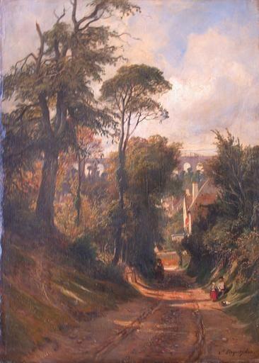 Vue de Val Fleuri | Camille Joseph Etienne Roqueplan | Oil Painting