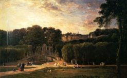 Chateau of Saint-Cloud | Charles Francois Daubigny | Oil Painting