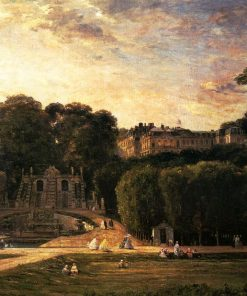 Chateau of Saint-Cloud | Charles Francois Daubigny | Oil Painting