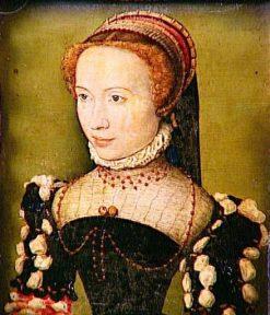 Presumed Portrait of Gabrielle de Rochechouart | Claude Corneille de Lyon | Oil Painting