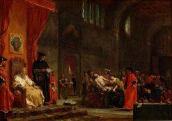 The Two Foscari | Eugene Delacroix | Oil Painting
