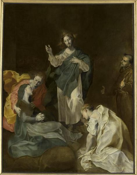 Christ Bidding Farewell to His Mother (incomplete) | Federico Barocci | Oil Painting