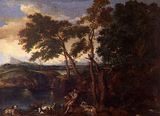 Landscape   Gaspard Dughet   Oil Painting