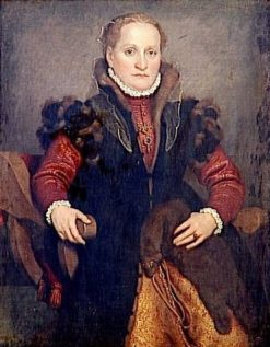 Portrait of Angelica Agliardi de Nicolinis | Giovanni Battista Moroni | Oil Painting