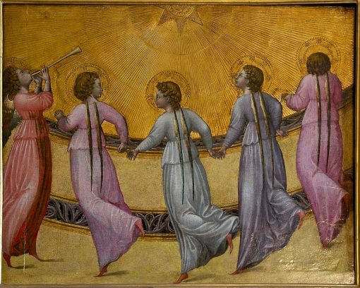 Five Dancing Angels | Giovanni di Paolo | Oil Painting