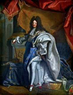 Louis XIV   Hyacinthe Rigaud   Oil Painting