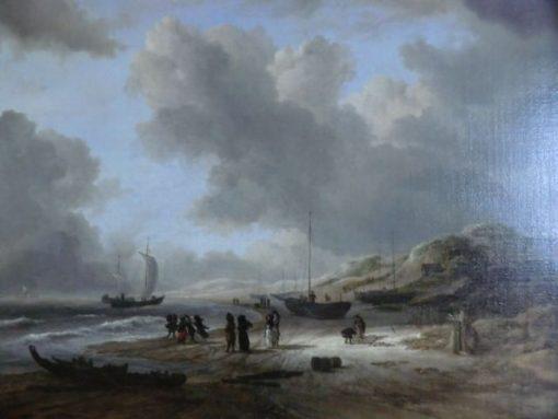 Beach at Scheveningen | Jacob van Ruisdael | Oil Painting
