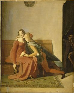 Paolo and Francesca | Jean Auguste Dominique Ingres | Oil Painting