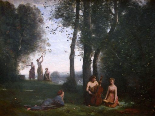 Concert Champêtre | Jean Baptiste Camille Corot | Oil Painting