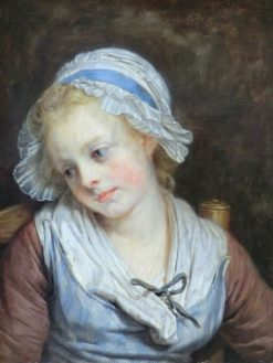 Young Girl | Jean Baptiste Greuze | Oil Painting