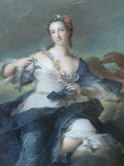 Portrait of Louise Henrietta de Bourbon Conte