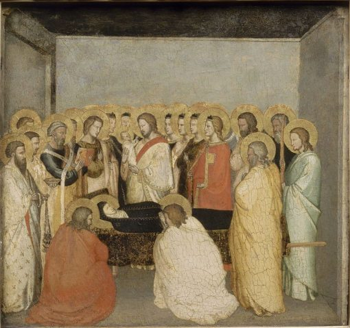 La mort de la Vierge (Dormition of the Virgin) | Maso di Banco | Oil Painting