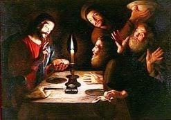 Supper at Emmaus | Trophime Bigot | Oil Painting