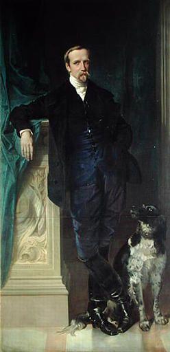 Portrait of the Duke of Aumale at Twickenham   Victor Louis Mottez   Oil Painting