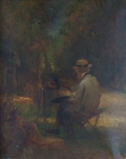 Self-Portrait of the Artist   Jules DuprE   Oil Painting
