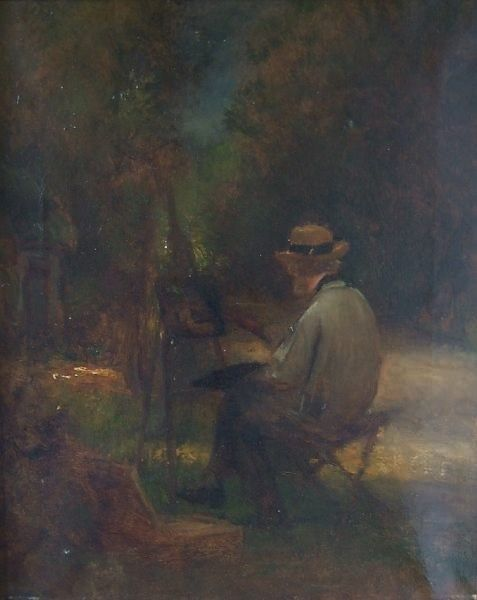 Self-Portrait of the Artist | Jules DuprE | Oil Painting