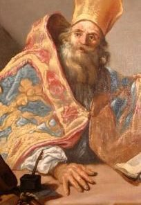 Saint Ambrose | Claude Vignon | Oil Painting