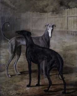 Rolla and Portia | Jacques Laurent Agasse | Oil Painting