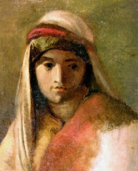 Young Arab Girl | Jean Baptiste Carpeaux | Oil Painting