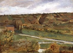 La colline (The Hill) | Alfred de Dreux | Oil Painting