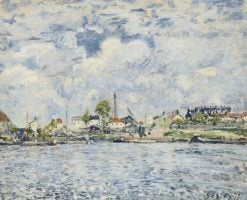 La Seine au point du jour | Alfred Sisley | Oil Painting