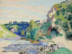 La Creuse a Crozant | Armand Guillaumin | Oil Painting