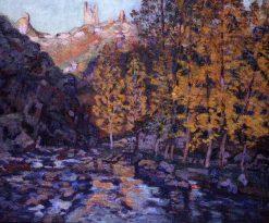 La Creuze a Crozant | Armand Guillaumin | Oil Painting
