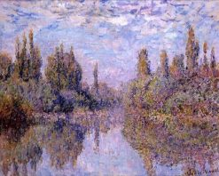 Le Seine a Vethéuil | Claude Monet | Oil Painting