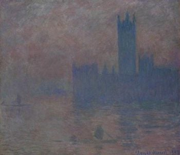 Londres: le parlement(also known as les tours de Westminster)   Claude Monet   Oil Painting