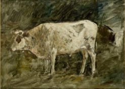 White Cow | Eugene Louis Boudin | Oil Painting