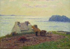 The Bay of Lampaul(also known as La baie de Lampaul) | Henry Moret | Oil Painting