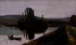 L'aube (Dawn) | Johan Barthold Jongkind | Oil Painting