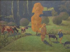Le berger Corydon (Shepherd Corydon) | Paul SErusier | Oil Painting