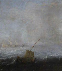 Rough Seas | Willem van de Velde the Younger | Oil Painting