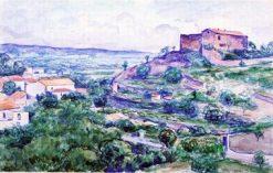 Le Castellas a Céret | Albert Marquet | Oil Painting