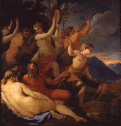 L'enfance de Jupiter (The Childhood of Jupiter) | Lubin Baugin | Oil Painting