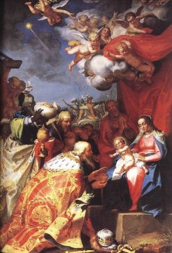 Adoration of the Magi | Abraham Bloemaert | Oil Painting