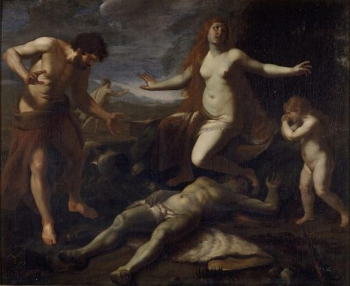 Adam and Eve Weeping over the Death of Abel | Alessandro Turchi | Oil Painting