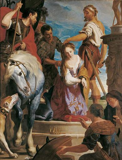 The Martyrdom of Saint Catherine | Gaspard de Crayer | Oil Painting