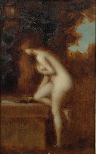 Etude pour La Fontaine | Jean Jacques Henner | Oil Painting