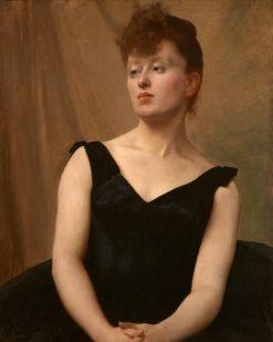 Mademoiselle Xoupp | Jules Bastien Lepage | Oil Painting