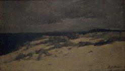 Bord de mer (Seashore) | Karl Pierre Daubigny | Oil Painting