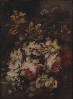 Flowers | Narcisse Dìaz de la Peña | Oil Painting