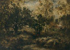 Forest Interior | Narcisse Dìaz de la Peña | Oil Painting