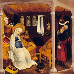 The Doubts of Joseph | German School th Century   Unknown | Oil Painting