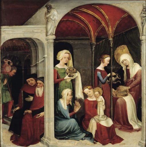 Nativity of the Virgin | German School th Century   Unknown | Oil Painting